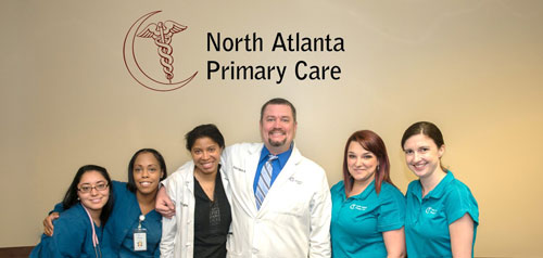 Sugar Hill medical office of North Atlanta Primary Care